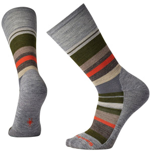 Men's Saturnsphere Socks-Smartwool-Light Gray Heather Loden-L-Uncle Dan's, Rock/Creek, and Gearhead Outfitters