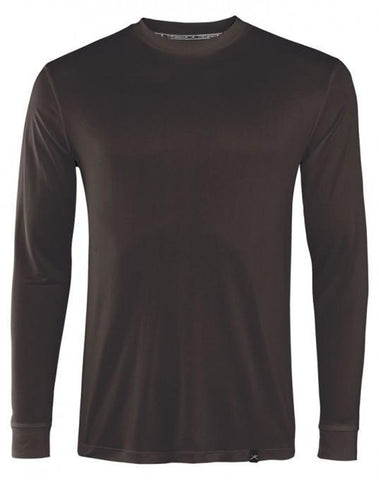 Men's Thermasilk Jersey Crew-Terramar-Black-S-Uncle Dan's, Rock/Creek, and Gearhead Outfitters