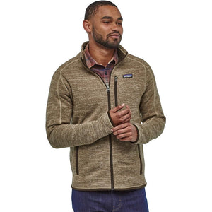 Men's Better Sweater Jacket-Patagonia-Pale Khaki-M-Uncle Dan's, Rock/Creek, and Gearhead Outfitters