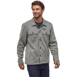 Men's Better Sweater Shirt Jacket-Patagonia-Stonewash-L-Uncle Dan's, Rock/Creek, and Gearhead Outfitters