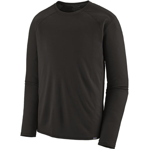 Men's Capilene Midweight Crew-Patagonia-Black-S-Uncle Dan's, Rock/Creek, and Gearhead Outfitters