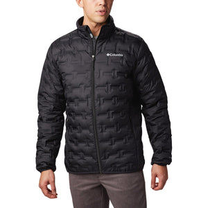 Men's Delta Ridge Down Jacket-Columbia-Black-L-Uncle Dan's, Rock/Creek, and Gearhead Outfitters