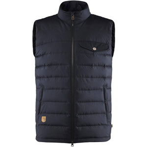 Men's Greenland Down Liner Vest-Fjallraven-Night Sky-L-Uncle Dan's, Rock/Creek, and Gearhead Outfitters