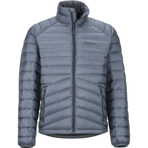 Men's Highlander Down Jacket-Marmot-Steel Onyx-L-Uncle Dan's, Rock/Creek, and Gearhead Outfitters