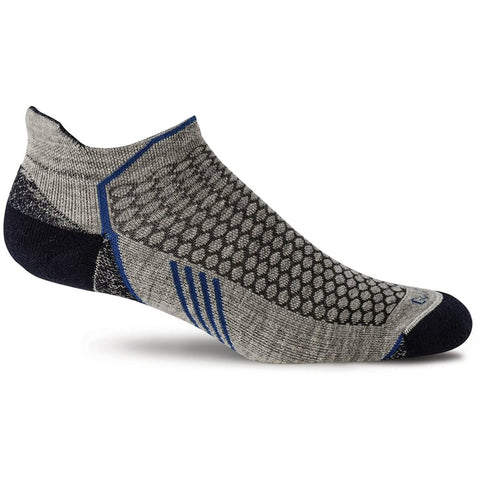 Men's Incline Micro Compression Socks - Clearance-Sockwell-Grey-M/L-Uncle Dan's, Rock/Creek, and Gearhead Outfitters