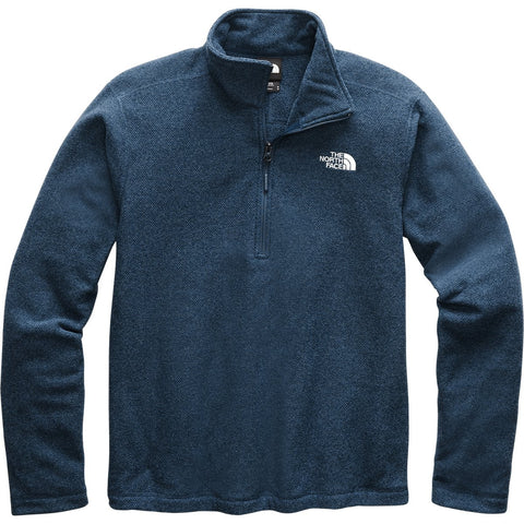 Men's Textured Cap Rock 1/4 Zip - Clearance-The North Face-Aviator Navy-S-Uncle Dan's, Rock/Creek, and Gearhead Outfitters