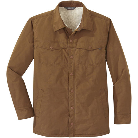Men's Wilson Shirt Jacket - Clearance-Outdoor Research-Saddle-S-Uncle Dan's, Rock/Creek, and Gearhead Outfitters
