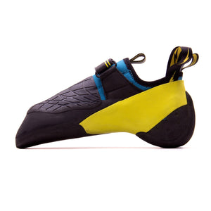 Men's X1 Climbing Shoe-Evolv-Yellow/Blue-8-Uncle Dan's, Rock/Creek, and Gearhead Outfitters