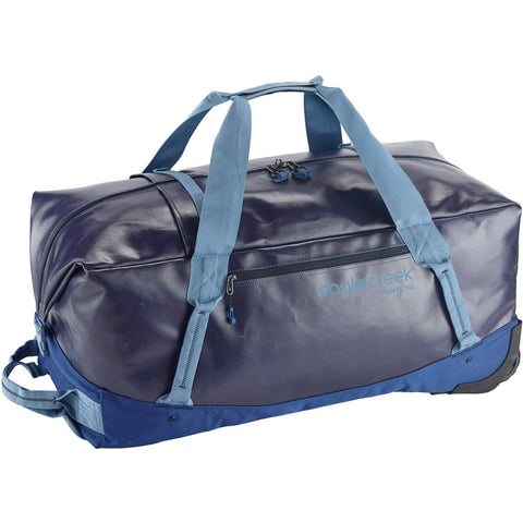 Migrate Wheeled Duffel 110L-Eagle Creek-Arctic Blue-Uncle Dan's, Rock/Creek, and Gearhead Outfitters