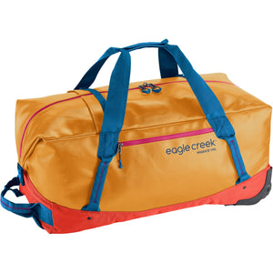 Migrate Wheeled Duffel 110L-Eagle Creek-Sahara Yellow-Uncle Dan's, Rock/Creek, and Gearhead Outfitters