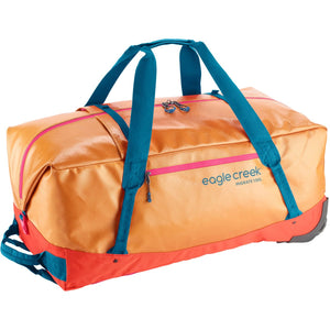 Migrate Wheeled Duffel 130L-Eagle Creek-Sahara Yellow-Uncle Dan's, Rock/Creek, and Gearhead Outfitters