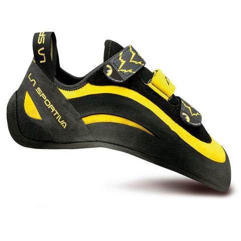 Men's Miura Climbing Shoe-La Sportiva-Yellow/Black-38-Uncle Dan's, Rock/Creek, and Gearhead Outfitters