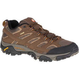 Men's Moab 2 Gore-Tex - Wide-Merrell-Earth-9.5-Uncle Dan's, Rock/Creek, and Gearhead Outfitters