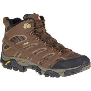 Men's Moab 2 Mid Gore-Tex-Merrell-Earth-10-Uncle Dan's, Rock/Creek, and Gearhead Outfitters