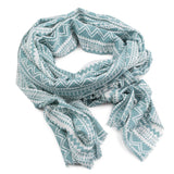 Mojave Scarf-Pistil-Aqua-Uncle Dan's, Rock/Creek, and Gearhead Outfitters