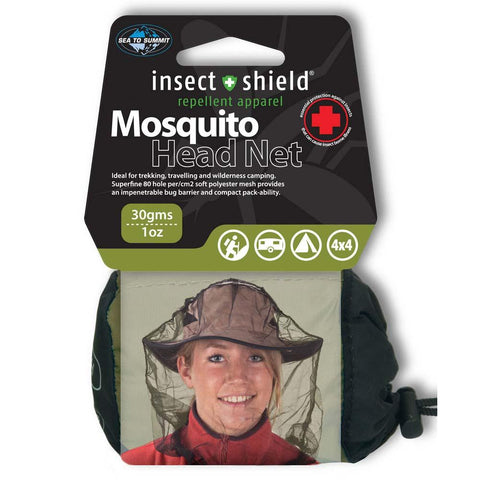 Mosquito Head Net - Insect Shield-Sea to Summit-Uncle Dan's, Rock/Creek, and Gearhead Outfitters