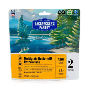 Multigrain Buttermilk Hotcake Mix-Backpacker's Pantry-Uncle Dan's, Rock/Creek, and Gearhead Outfitters