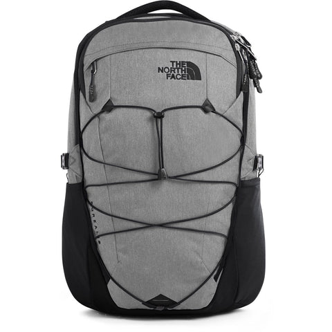 The North Face Borealis Backpack-NF0A3KV3_Zinc Grey Dark Heather/TNF Black