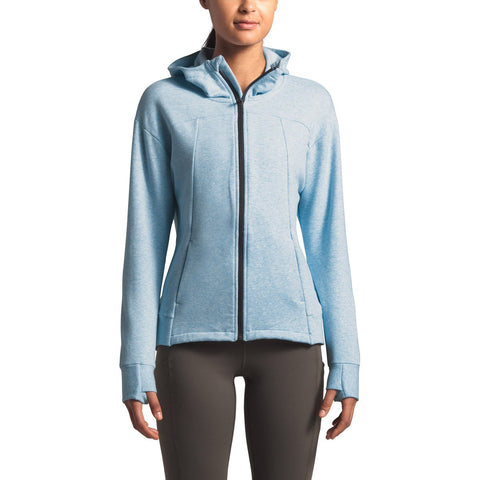 Women's Motivation Fleece Full Zip - Clearance-The North Face-Angel Falls Blue Heather-XS-Uncle Dan's, Rock/Creek, and Gearhead Outfitters