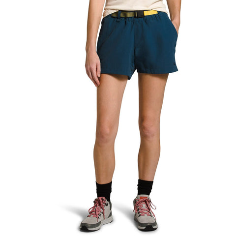 Women's Class V Hike Short - Clearance-The North Face-Blue Wing Teal-L - Long-Uncle Dan's, Rock/Creek, and Gearhead Outfitters