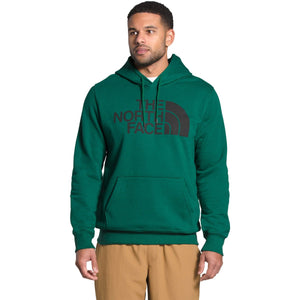Men's Half Dome Pullover Hoodie - Clearance-The North Face-Evergreen/TNF Black-S-Uncle Dan's, Rock/Creek, and Gearhead Outfitters