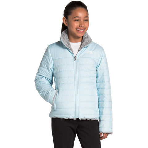 Girls' Reversible Mossbud Swirl Jacket - Clearance-The North Face-Starlight Blue-XS-Uncle Dan's, Rock/Creek, and Gearhead Outfitters