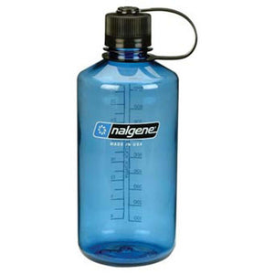 32 oz Everyday Narrow Mouth Bottle-Nalgene-Slate Blue w/ Black Lid-Uncle Dan's, Rock/Creek, and Gearhead Outfitters