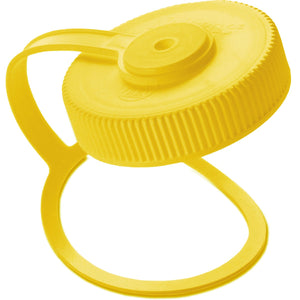 32 oz Wide Mouth Loop Top Lid-Nalgene-Yellow-Uncle Dan's, Rock/Creek, and Gearhead Outfitters