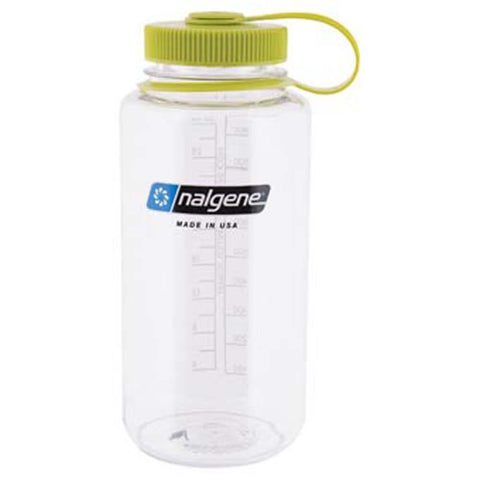 32 oz Wide Mouth Bottle-Nalgene-Gray w/ Blue Lid-Uncle Dan's, Rock/Creek, and Gearhead Outfitters