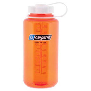 32 oz Wide Mouth Bottle-Nalgene-Orange w/ White Lid-Uncle Dan's, Rock/Creek, and Gearhead Outfitters