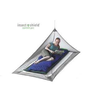 Nano Mosquito Pyramid Net Shelter-Insect Shield-Single-Sea to Summit-Uncle Dan's, Rock/Creek, and Gearhead Outfitters