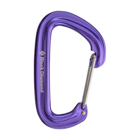 Neutrino Carabiner-Black Diamond-Black-Uncle Dan's, Rock/Creek, and Gearhead Outfitters