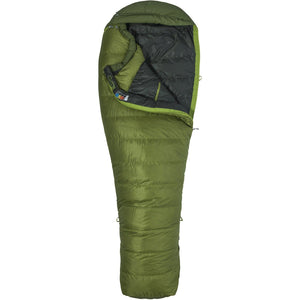 Never Winter Sleeping Bag-Marmot-Cilantro Tree Green-REG LEFT-Uncle Dan's, Rock/Creek, and Gearhead Outfitters