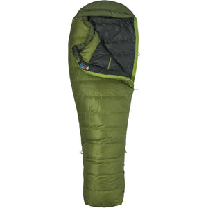 Never Winter Sleeping Bag - Long-Marmot-Cilantro Tree Green-LNG LEFT-Uncle Dan's, Rock/Creek, and Gearhead Outfitters