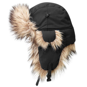Nordic Heater Trapper Hat-Fjallraven-Black-L-Uncle Dan's, Rock/Creek, and Gearhead Outfitters