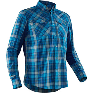 Men's Long Sleeve Guide Shirt-Northwest River Supplies-Blue-S-Uncle Dan's, Rock/Creek, and Gearhead Outfitters