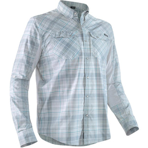 Men's Long Sleeve Guide Shirt-Northwest River Supplies-Gray-S-Uncle Dan's, Rock/Creek, and Gearhead Outfitters