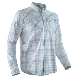 Men's Long Sleeve Guide Shirt-Northwest River Supplies-Grey-M-Uncle Dan's, Rock/Creek, and Gearhead Outfitters