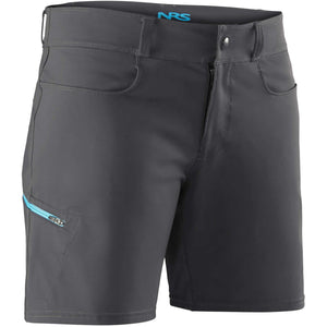 Women's Guide Shorts-Northwest River Supplies-Gunmetal-4-Uncle Dan's, Rock/Creek, and Gearhead Outfitters