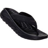 Men's Ora Recovery Flip-HOKA ONE ONE-Black Dark Gull Gray-8-Uncle Dan's, Rock/Creek, and Gearhead Outfitters