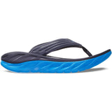 Men's Ora Recovery Flip-HOKA ONE ONE-Ebony Dresden Blue-8-Uncle Dan's, Rock/Creek, and Gearhead Outfitters