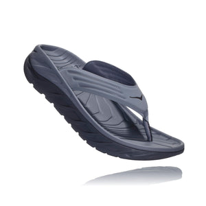 Men's Ora Recovery Flip-HOKA ONE ONE-Frost Gray Dark Gull Gray-8-Uncle Dan's, Rock/Creek, and Gearhead Outfitters