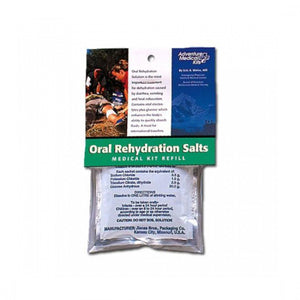Oral Rehydration Salts-Adventure Medical Kits-Uncle Dan's, Rock/Creek, and Gearhead Outfitters