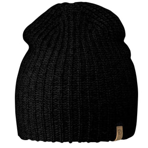 Ovik Melange Beanie-Fjallraven-Black-Uncle Dan's, Rock/Creek, and Gearhead Outfitters