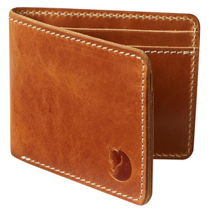 Ovik Wallet-Fjallraven-Leather Cognac-Uncle Dan's, Rock/Creek, and Gearhead Outfitters