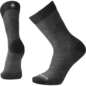 Men's PhD Pro Outdoor Medium Crew Socks-Smartwool-Black-L-Uncle Dan's, Rock/Creek, and Gearhead Outfitters