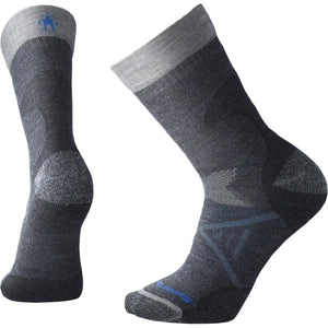 Men's PhD Pro Outdoor Medium Crew Socks-Smartwool-Deep Navy-L-Uncle Dan's, Rock/Creek, and Gearhead Outfitters