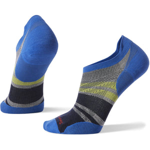 Men's PhD Run Ultra Light Pattern Micro Socks-Smartwool-Light Gray-M-Uncle Dan's, Rock/Creek, and Gearhead Outfitters