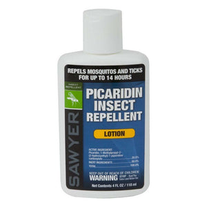Picaridin Insect Repellent 14 hour Lotion 4oz (Effective against Zika Virus)-Sawyer-Uncle Dan's, Rock/Creek, and Gearhead Outfitters