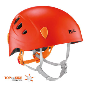 Childrens Picchu Helmet-Petzl-Coral-Uncle Dan's, Rock/Creek, and Gearhead Outfitters